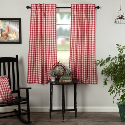 Brick Red Curtains Wayfair