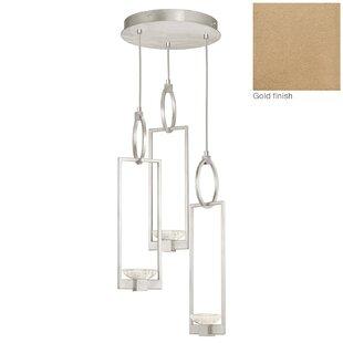 Delphi 3-Light Cluster Pendant by Fine Art Lamps