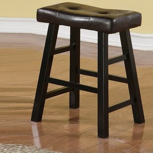 Rowell Rubber Wood Bar Stool (Set of 2) b..