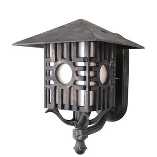 Looking for Penfield 1-Light Outdoor Sconce By Alcott Hill