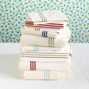Eastern Accents Tessa 4 Piece 200 Thread Count Egyptian-Quality Cotton Sheet Set