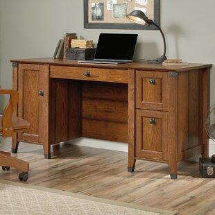 Wood Desks For Office Intended Quickview Farmhouse Desks Birch Lane