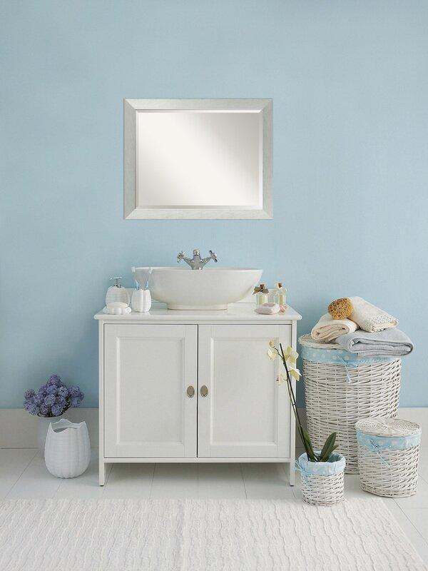 Latitude Run Fouts Sterling Bathroom/Vanity Mirror | Wayfair