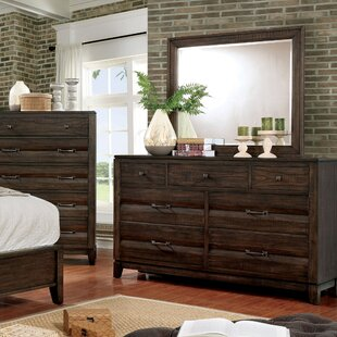 Michaelson 7 Drawer Dresser with Mirror