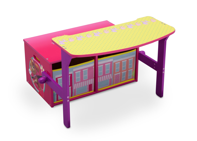 Paw Patrol Children S Toy Storage Bench And Desk Wayfair Co Uk
