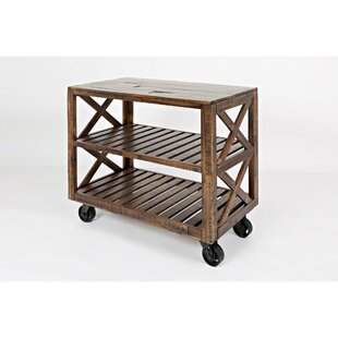 Mattapoisett Trolley Bar Cart by 17 Stories