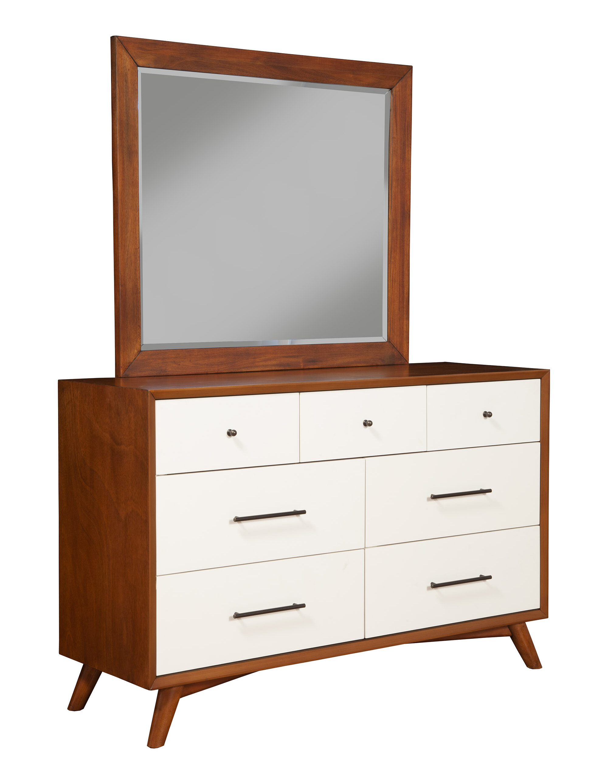 Parocela Mid Century Modern Dresser Mirror Reviews Allmodern