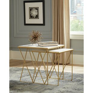 Tioga 2 Piece Nesting Tables (Set of 2) by Mercer41