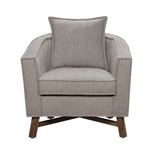 Shop For Sleaford Burlap Armchair by Gracie Oaks Reviews (2019) & Buyer's Guide