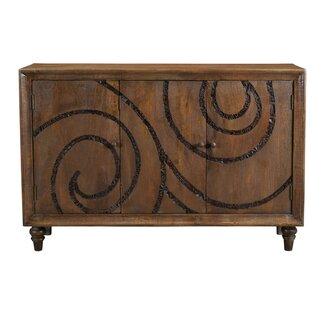 Hillandale Carved Inlay 3 Door Sideboard