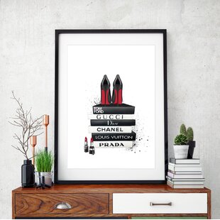 92b7960753acc Fashion Wall Art You'll Love | Wayfair.co.uk