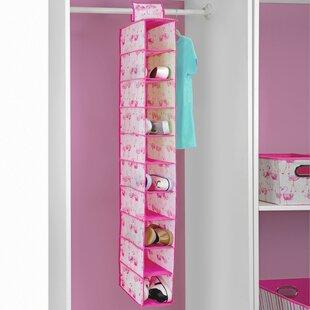 Inexpensive 10 Pair Hanging Shoe Organizer ByLaura Ashley
