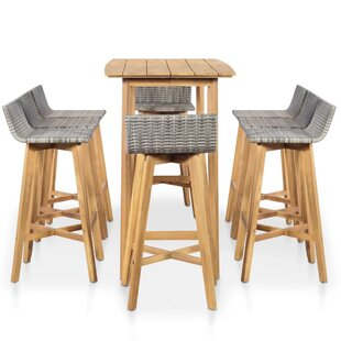 Hortense 9 Piece Bar Set By Sol 72 Outdoor