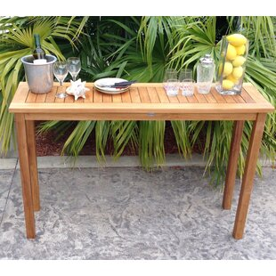 Ingrid Teak Console Table
