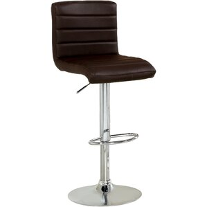 Elenore Adjustable Height Swivel Bar Stool by Orren Ellis Best Reviews