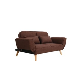 Dierks Modern Living Room Loveseat Wrought Studio