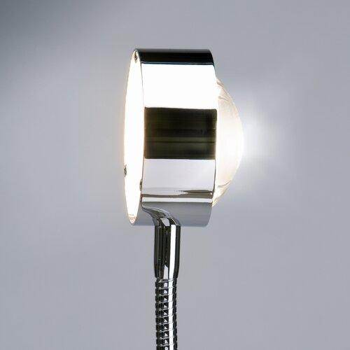 Wandstrahler 1-flammig Flexlight | Lampen > Wandlampen | Schwarz transparent/40 cm/chrom | Glas | Top Light