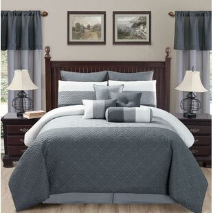 Hanavan 20 Piece Reversible Comforter Set