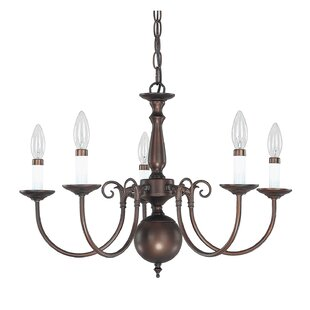Charlton Home Wilkerson 5-Light Chandelier