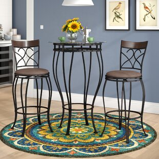 Wellington 3 Piece Pub Table Set by Alcott Hill