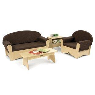 Komfy 4 Piece Living Room Set ByJonti-Craft