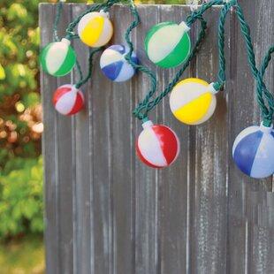 DEI 10-Light 7.5 ft. Ball String Lights