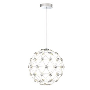 Orren Ellis Sturgis Globe 60 Light LED Pendant