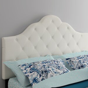 Harbert Queen Upholstered Panel Headboard