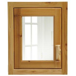Best Price Cedar 18 x 22 Recessed Medicine Cabinet ByFireside Lodge