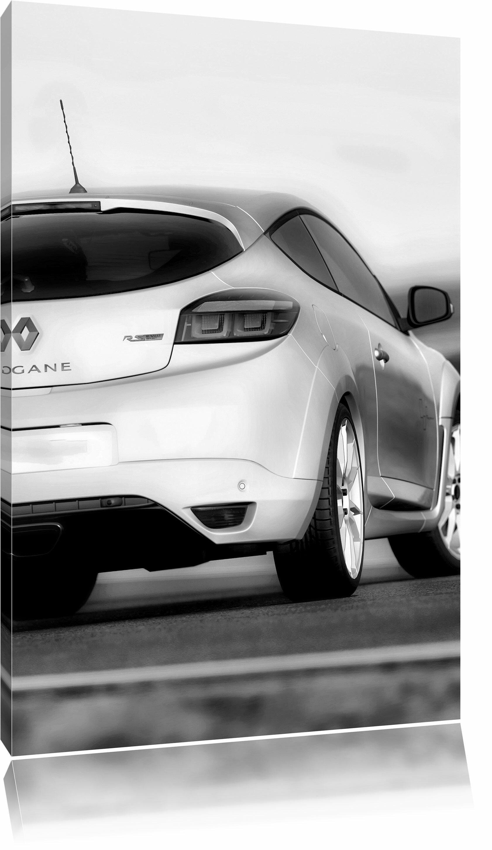 Sportwagen Limousine im Betonbunker  Leinwandbild Wanddeko Kunstdruck