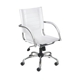 Wade Logan Eamor Modern Leather Office Chair