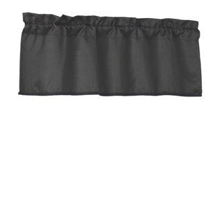Black Valances U0026 Kitchen Curtains