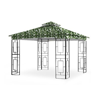 Garden Winds Garden Treasure Geo Gazebo Replacement Canopy