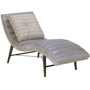Cushendall Leather Chaise Lounge by Corrigan Studio