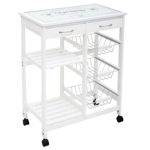 Lazro Kitchen Trolley By August Grove