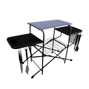 Chefu0027s Basics Select Outdoor Folding Grilling Camping Table