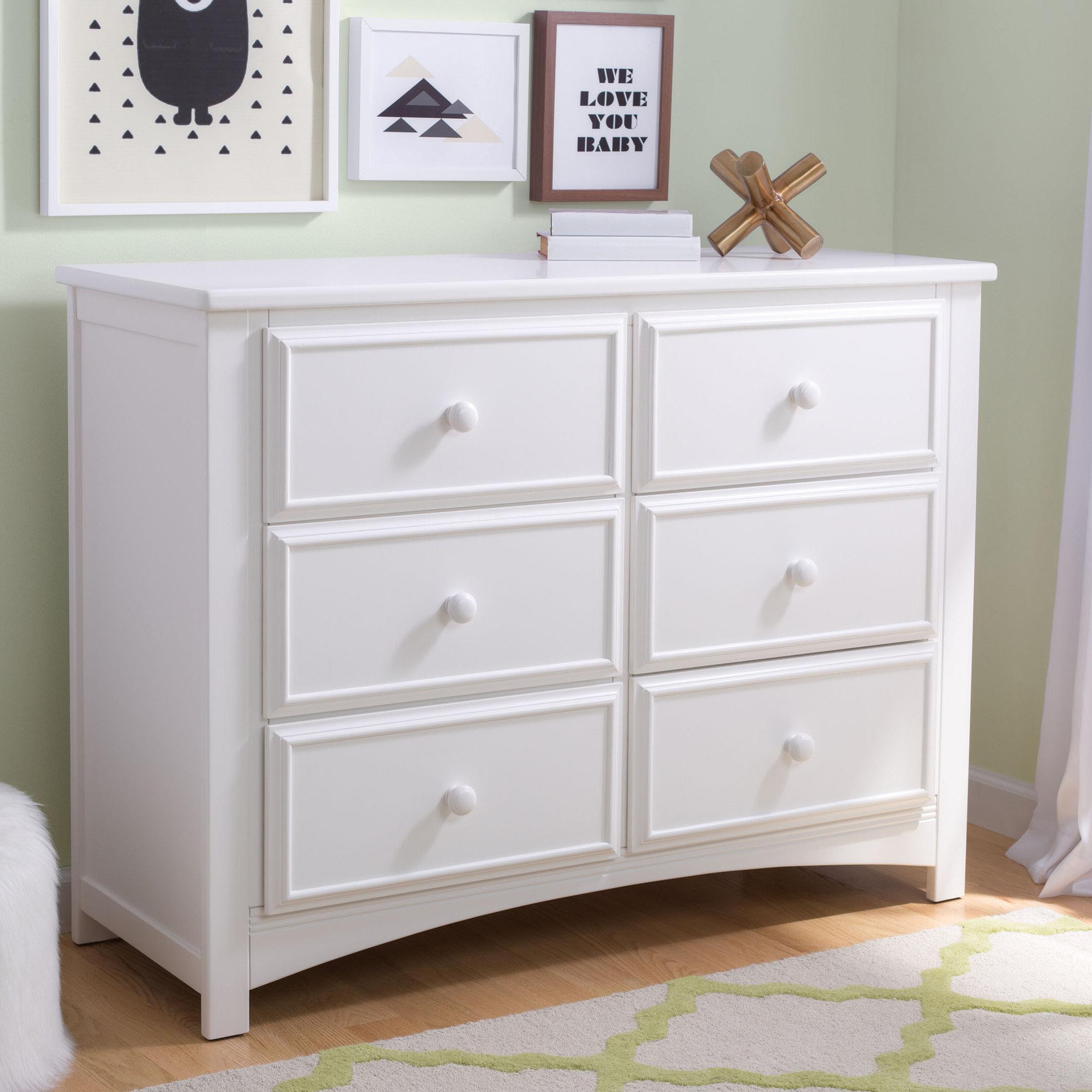 Delta Children 6 Drawer Double Dresser