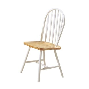 Ophelia & Co. Kobbe Solid Wood Side Dining Chair (Set of 4)
