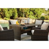 Lovejoy 5 Piece Dining Set with Cushions
