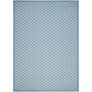 Bacall Blue / Beige Indoor/Outdoor Area Rug