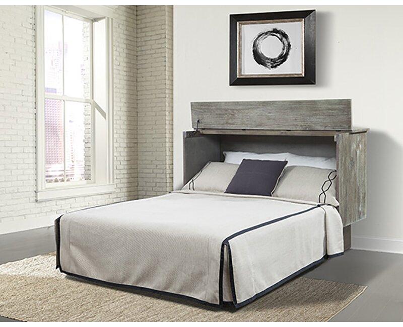 Sadie Ash Queen Storage Murphy Bed with