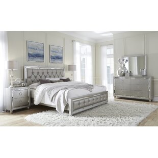 Rosaline Upholstered Panel Bed by Rosdorf Park
