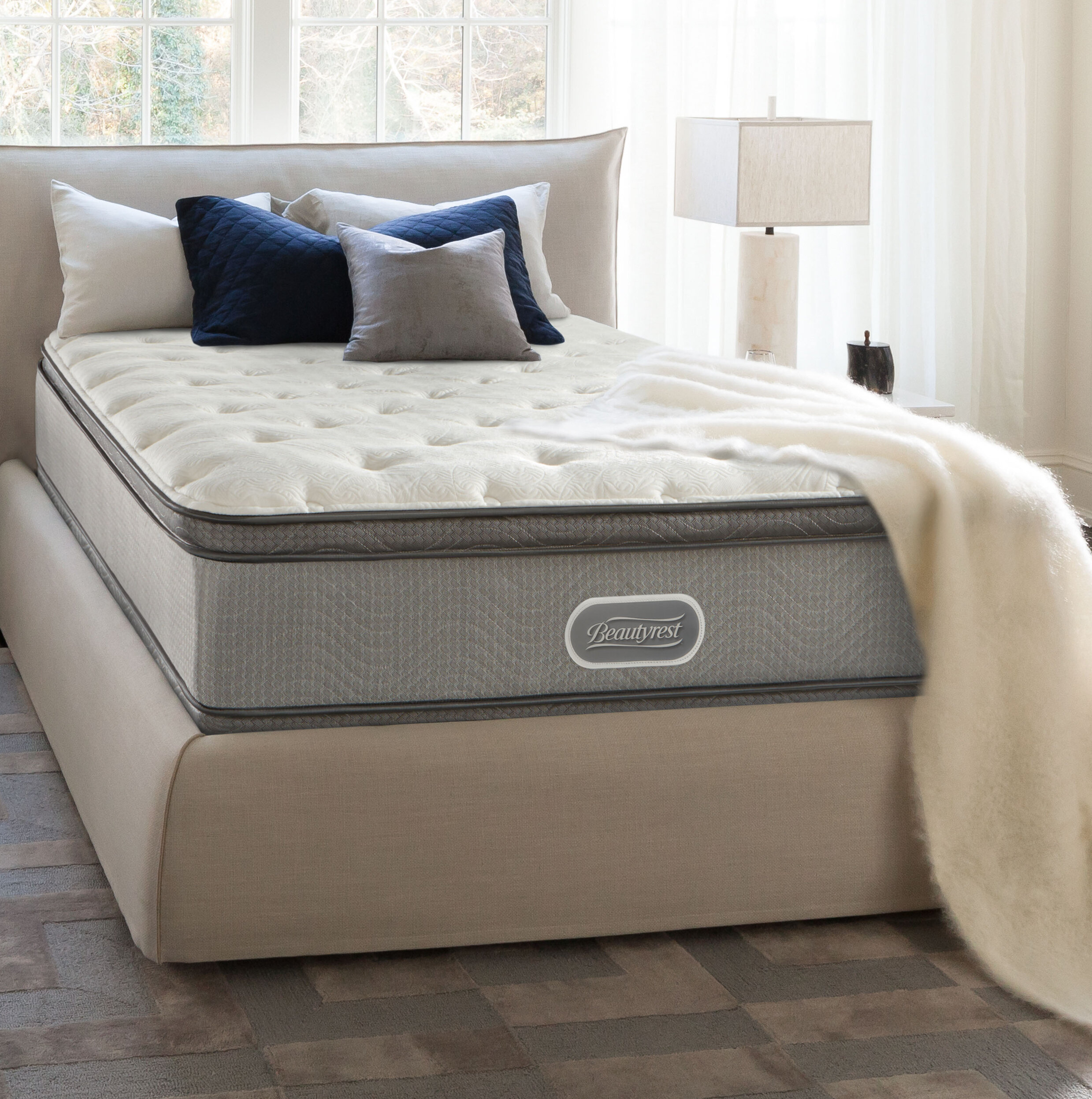 shop city mattress pillow beautysleep top silo topper simmons valley plpt plush sun sleep q