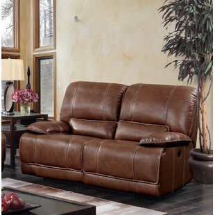 Dupree Leather Reclining Sofa
