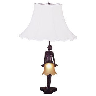 Silhouette 30's Lady 26 Table Lamp