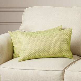 Alexina Box Stitch Throw Pillow (Set of 2)