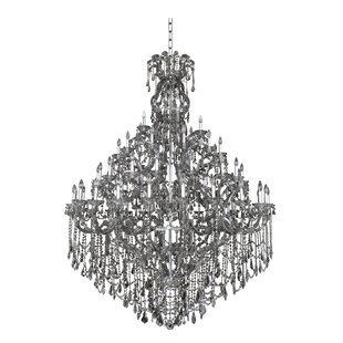 Brahms 66-Light Candle Style Chandelier by Allegri by Kalco Lighting