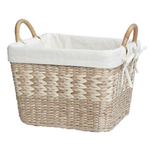 Arcadia Storage Wicker Basket With Liner