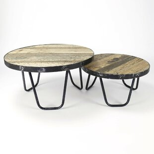 Ebert 2 Piece Coffee Table Set By Union Rustic