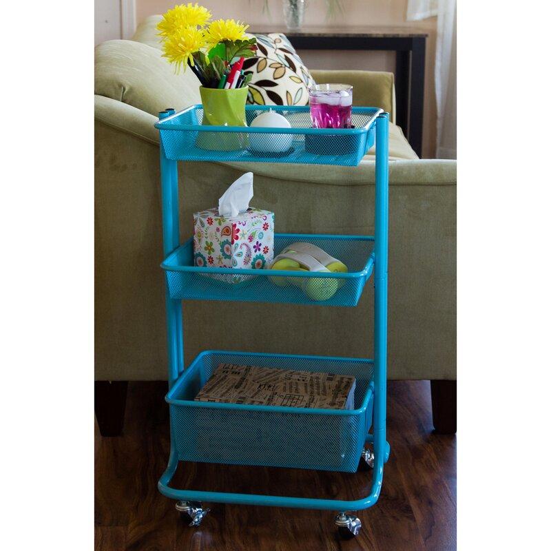 Storage Kitchen Rolling Utility Cart